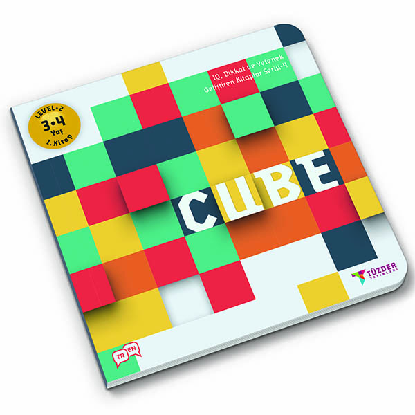 4 CUBE 3D 1x1 1